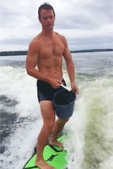 Toews Ice Bucket Challenge.  YOU WIN CAPTAIN. YOU JUST WIN AT LIFE.