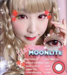 Moonlite Red #cosplayers #ohmykittydotcom #contacts #circlelenses #popular #cosplay #eyes #makeup Red Contacts, Circle Lenses, Fairy, Cosplay, Popular, Eyes, Makeup, Circle Glasses, Make Up