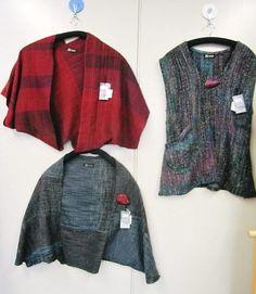 「平林さんのさをり服と小物展」始まりました! - 手織適塾さをり 横浜通信 -さをり織り情報ブログ