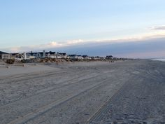 Beach houses at Ocean City