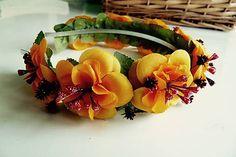 Martinuska / Jesenno zimná Handmade Headbands, Succulents, Plants, Succulent Plants, Plant, Planets