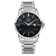 Flott herreklokke med datofunksjon. Omega Watch, Watches, Accessories, Wrist Watches, Wristwatches, Tag Watches, Watch