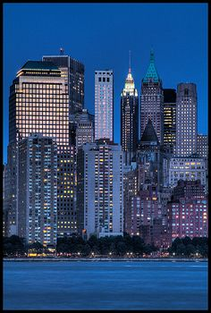 Density of New York City Skyscrapers