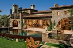 small mediterranean house plans - Google Search