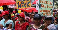 Thousands of sex workers from over 40 countries marched for their rights in Kolkata, India demanding decriminalization. July 2012. (Photo: Piyal Adhikary/EPA)