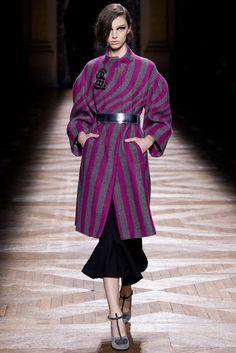 Dries Van Noten Fall 2014 Ready-to-Wear Fashion Show - Larissa Marchiori (Elite)