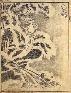 Yuki-Onna: the Snow Woman of Japan   Anomalies: the Strange & Unexplained