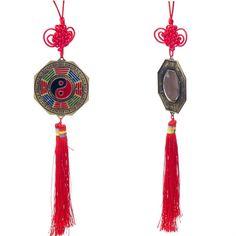 Espejo Bagua Colgante de Nudos Tradicional Chino   Feng Shui. Puedes conseguirlo en http://adivinacion.esoterik-a.com/producto/espejo-bagua-colgante-nudos-tradicional-chino-feng-shui/