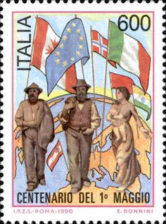 1-5-2015 Labour Day - Festa dei lavoratori ma non deitanti disoccupati che ci sono in Italia e in tutto il mondo.