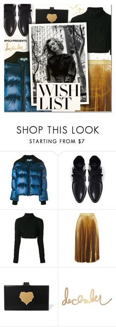 """""""#PolyPresents: Wish List V"""" by vampirella24 ❤ liked on Polyvore featuring Kenzo, A.F. Vandevorst, Pierre Balmain, Christopher Kane, Edie Parker and Heidi Swapp"""