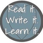Read it Write it Learn it Teaching Resources for middle and high school ELA that are standards-based, meaningful, engaging, and interactive. Students will be learning more than you ever imagined and have fun doing it. Resources for independent reading, poetry, test prep, mastering the standards, and more! | Teachers Pay Teachers