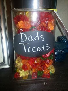 Fathers day gift Gummy Bears Fathers Day Wishes, Fathers Day Gifts, Hubby Love, Gummy Bears, Husband Love, Gummi Bears