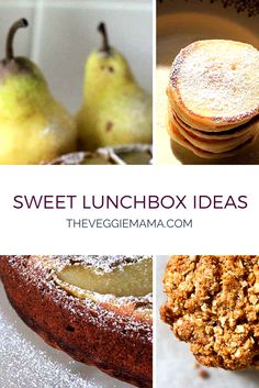 Plenty of ideas for a little something sweet (and homemade!) in lunchboxes.