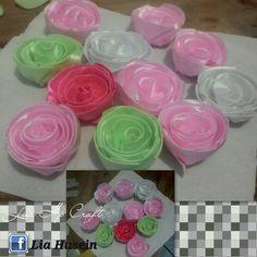 camellia ribbon flower