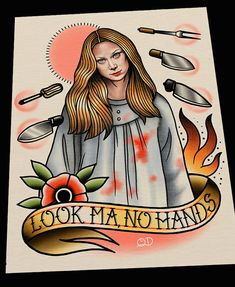 Carrie Tattoo Flash