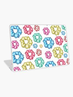 'Colorful 8 Scrunchies Pack ' Laptop Skin by AElenaS Transparent Stickers, Glossier Stickers, Laptop Skin, Scrunchies, Zipper Pouch, Laptop Sleeves, Iphone Cases, Samsung Galaxy, Packing