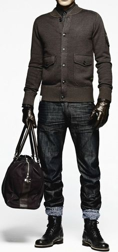 27 Inspiring Men Work Outfits With Boots Styleoholic   Styleoholic