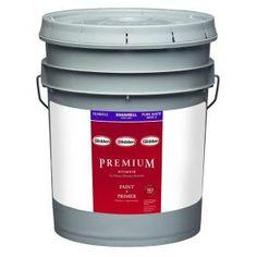 Glidden Premium 5 gal. Pure White Eggshell Latex Interior Paint GLN6011-05 at The Home Depot - Mobile