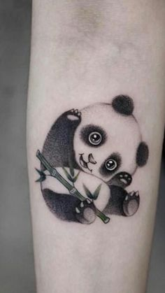I Would Get A Grizzly Or Teddy Bear Instead Of A Panda Tattoos