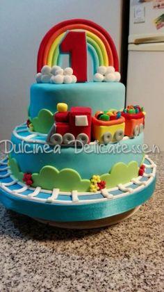 tortas artesanales infantiles trencito dulcinea delicatessen