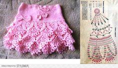 30 Fantastiche Immagini Su Gonne Uncinetto E Ferri Iron Crochet