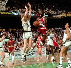 """I think it's just God disguised as Michael Jordan."" - Larry Bird"