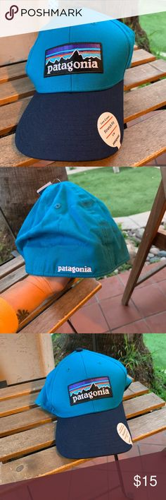 b9a68c67cb246 Patagonia hat sm. Low crown stretch fit. Bnwt Bnwt P-6 logo stretch