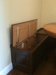built in kitchen seating  | Montero Built In Bench Seat | JDW Home Work