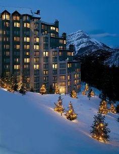 The Rimrock Resort Hotel, Banff, Ulkopuoli