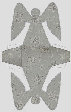 Caja de Angel para Navidad, para Imprimir Gratis. http://www.ohmyfiesta.com/2013/12/caja-de-angel-para-navidad-para.html#.U9Fsi2ORMTA
