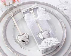 """""""Tea Time"""" Heart Tea Infuser in Elegant White Gift Box - cheaper still"""