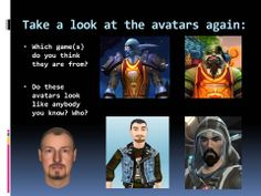 A lesson plan which puts a twist on traditional introductory lessons by getting students to introduce themselves as gaming avatars.