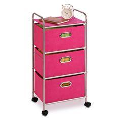 3-drawer rolling cart $57