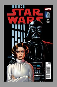 Star Wars #1, variant cover by Amanda Conner