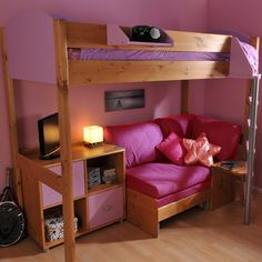 Stompa Casa 8 - Highsleeper | Childrens | Bedroom