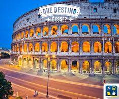 Que destino é esse? Para os viajantes mais assíduos, esse destino é bastante fácil e conhecido. Já teve um dos maiores impérios da história da humanidade e é o destino mais visitado de seu país! Acertou quem respondeu Roma - Itália. Consulte mais informações: lalasponchiado.home@clubeturismo.com.br #AmoViajar #ClubePeloMundo #AproveiteSuasFerias #OndeEuQueriaEstarAgora #QueDestinoeEsse #VenhaConhecer