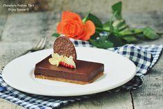 Chocolate Praline Tart Le Chef, Tiramisu, Cheesecake, Sweets, Passion, Cakes, Baking, Ethnic Recipes, Desserts