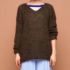 Mohair Pullover Camouflage - SABRINA WEIGT