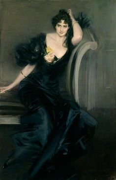 Gertrude Elizabeth, née Blood, Lady Colin Campbell / Giovanni Boldini / c.1897 / Oil on canvas