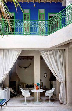 moroccan balconies, via lonny / sfgirlbybay