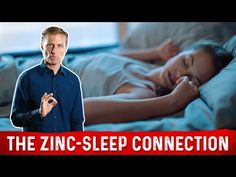 The Benefits of Zinc for a Deeper Sleep Health Heal, Health And Nutrition, Health And Wellness, Health Fitness, Palmer College Of Chiropractic, Doctor Of Chiropractic, Dr Eric Berg, Dr Berg, Zinc Benefits