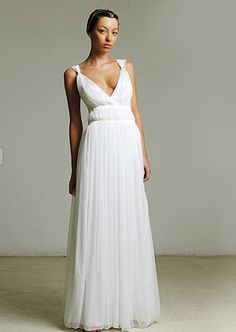 grecian style gown by Hila Gaon