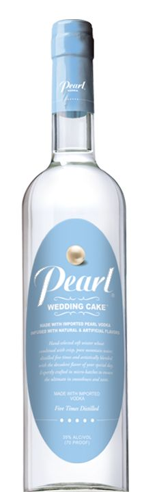 Pearl Wedding Cake Vodka necessity