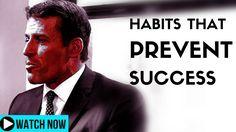 Tony Robbins - Habits That Prevent Your Success
