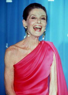 Audrey Hepburn! And still beautiful!