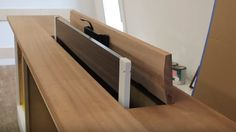 Hide your television when not in use by building this TV lift cabinet.​​