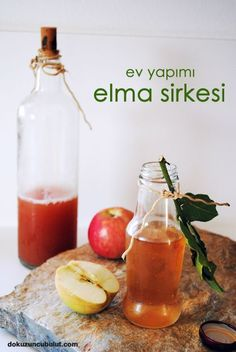 elma sirkesi dokuzuncubulut Cute Food, Yummy Food, No Gluten Diet, Cooking Recipes, Healthy Recipes, Food Decoration, Slow Food, Turkish Recipes, Fermented Foods