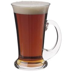 Dartington Drinking Gift Ultimate Tankard, The exceptionally well-balanced glass tankard offers a truly traditional way to sip ale. A great gif for ale aficionados. Beer Glassware, Personalized Beer Glasses, Presents For Dad, Inspirational Gifts, Wine Glass, Tea Pots, Drinking, Crystals, Tableware