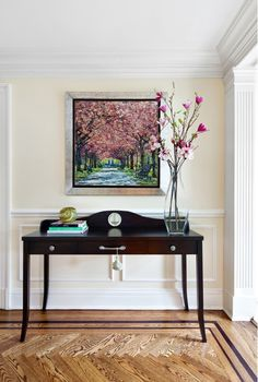 Foyer with Radiant Orchid #pantone #coloroftheyear #2014
