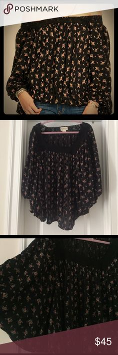 Ralph Lauren Denim & Supply Victorian Floral L This is a really beautiful top. It's on sale on the Macy's website for $75. Looks great with dark skinny jeans. L Denim & Supply Ralph Lauren Tops Blouses